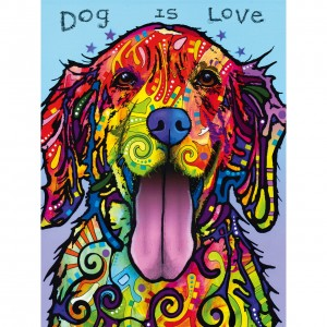 Master Pieces 300 XXL - Dean Russo, Dog is Love
