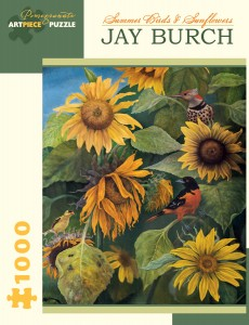 Pomegranate 1000 - Jay Burch - Summer Birds and Sunflowers, 2011