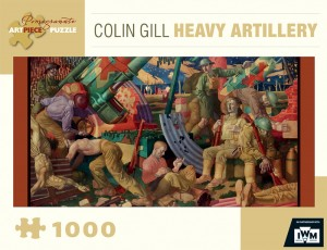 Pomegranate 1000 - Colin Gill - Heavy Artillery, 1919