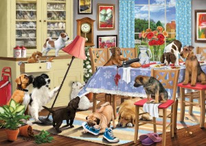 Otter House 1000 - Dogs In The Dining Room