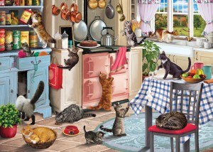 Otter House 1000 - Cats In The Kitchen
