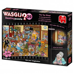 Jumbo 1000 - Wasgij Destiny 20 - The Toy Shop!