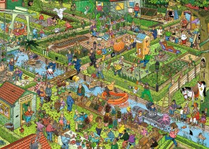 Jumbo 1000 - Jan Van Haasteren - The Vegetable Garden