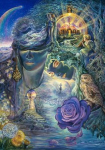 Grafika 1000 - Josephine Wall - Key to Eternity