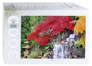 Step Puzzle 3000 - Waterfall in the Japanese Garden