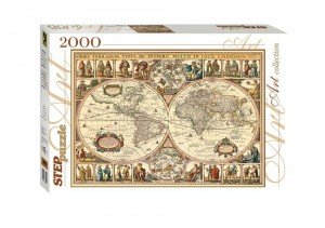 Step Puzzle 2000 - Historical Map of the World