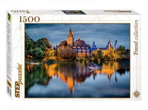 Step Puzzle 1500 - The castle by the lake
