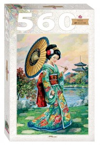 Step Puzzle 560 - Japanese Woman
