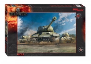Step Puzzle 560 - World of Tanks