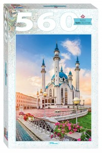 Step Puzzle 560 - Kul Sharif Mosque in Kazan