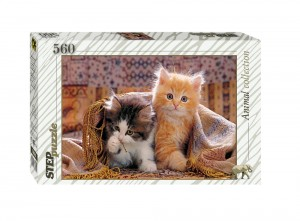 Step Puzzle 560 - Kittens