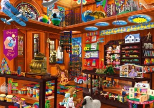 BlueBird Puzzle 1000 - Toy Shoppe Hidden
