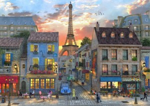 BlueBird Puzzle 4000 - Dominic Davison, Streets of Paris