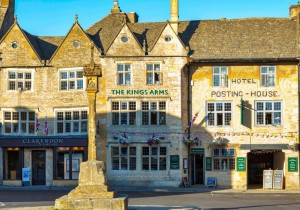 Grafika 1000 - Michael Whitefoot - Stow-On-The-Wold in the Cotswolds