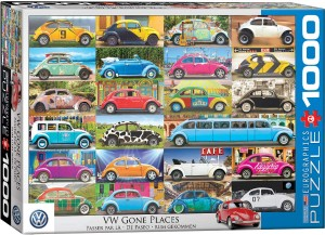 Eurographics 1000 - VW Beetle - Gone Places