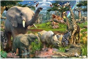 Ravensburger 18000 - At the Watering Hole (Przy wodopoju)