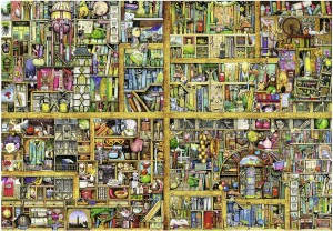 Ravensburger 18000 - Colin Thompson: Magic library (Magiczna biblioteczka)