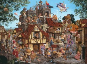 SunsOut 1500 - James Christensen - Rhymes and Reasons