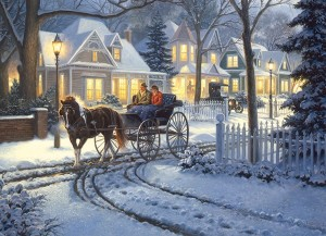 Cobble Hill 1000 - Mark Keathley: Horse-Drawn Buggy