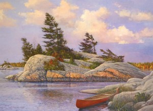 Cobble Hill 1000 - Douglas Laird - Red Canoe