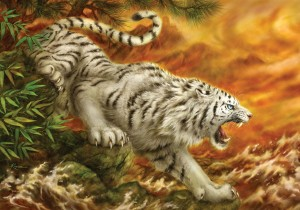 KS Games 1000 - White Tiger