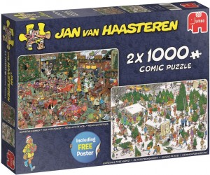 Jumbo 2x1000 - Jan Van Haasteren - Christmas Dinner