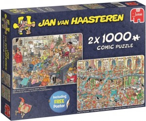 Jumbo 2x1000 - Jan Van Haasteren - New Year Party