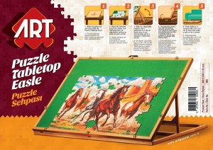 Art Puzzle Tabletop Easle 100 - 1500 (93 x 68 cm)