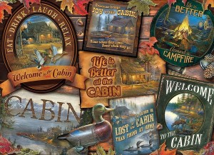 Cobble Hill 1000 - Cabin Signs
