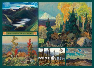 Cobble Hill 1000 - Franklin Carmichael - Collage - Carmichael Collection