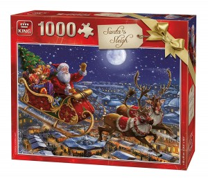 King 1000 - Christmas Santa Sleigh