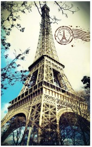 Pintoo 4000 - Plastic Puzzle - Eiffel Tower