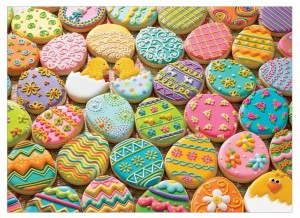 Cobble Hill 350 XXL - Family - Easter Cookies
