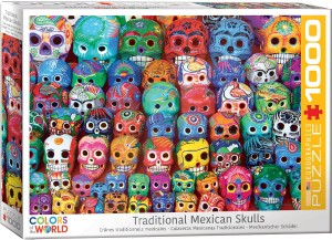 Eurographics 1000 – Traditional Mexican Skulls