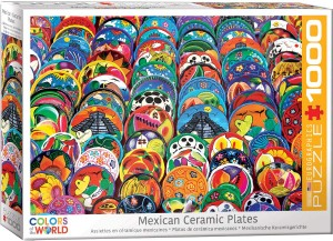Eurographics 1000 – Mexican Ceramic Plates