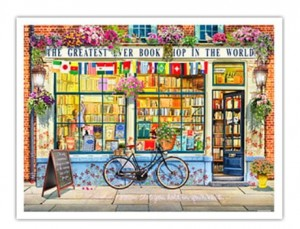 Pintoo 1200 Plastic Puzzle - Garry Walton - Greatest Bookshop In The World