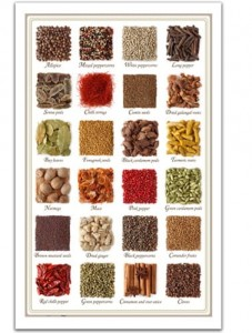 Pintoo 1000 Plastic Puzzle - Collection of spices