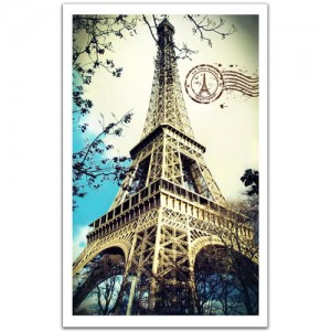 Pintoo 1000 Plastic Puzzle - France, Paris - The Eiffel Tower