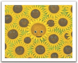 Pintoo 500 Plastic Puzzle  -Smart - Cool Bears with sunflowers