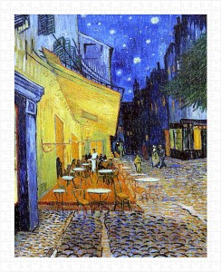 Pintoo  500 Plastic Puzzle - Van Gogh Vincent - Cafe Terrace at Night