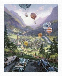 Pintoo  500 Plastic Puzzle - Michael Young - Up Up and Away