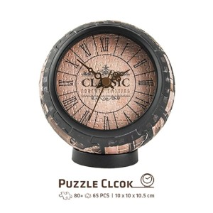 Pintoo 145 - 3D Puzzle Clock - Forever Lasting