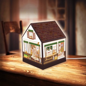 Pintoo 3D Puzzle 208 - House Lantern - Lovely Cafe Shop