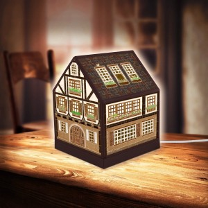 Pintoo 3D Puzzle 208 - House Lantern - Half-Timbered House