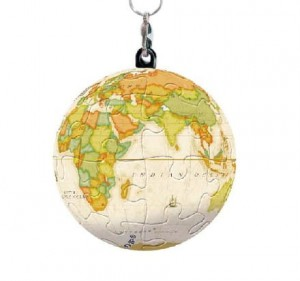 Pintoo 3D Puzzle 24 - Keychain - Globe