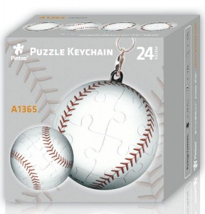 Pintoo 3D Puzzle 24 - Keychain - Baseball