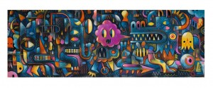 Djeco 500 - Puzzles Gallery - Monster Wall