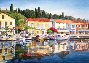 Art Puzzle 1000 - Greece : Fiscardo