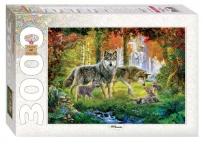 Step Puzzle 3000 - Wolves