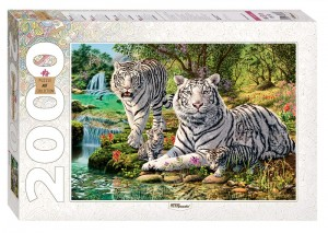 Step Puzzle 2000 - How many Tigers?